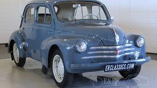 Renault 4 CV Saloon 1956 -VIDEO- www.ERclassics.com