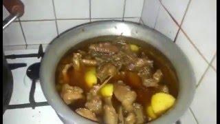 Hasher Mangso Recipe - হাঁসের মাংস এর রান্না | Nasima Baby's Recipe Video
