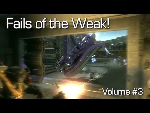 Halo: Reach - Fails of the Weak Volume #3 (Funny Halo: Reach Bloopers!)
