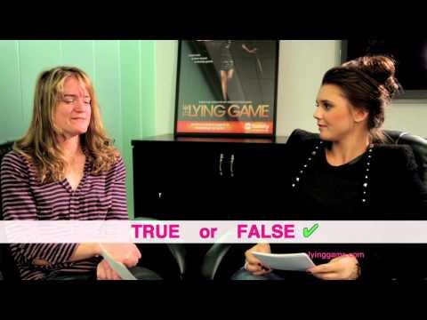 Play The Lying Game With Alexandra Chando and Sara Shepard!