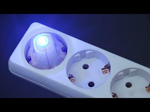 Как подключить светодиод к розетке переменного тока / 220 В