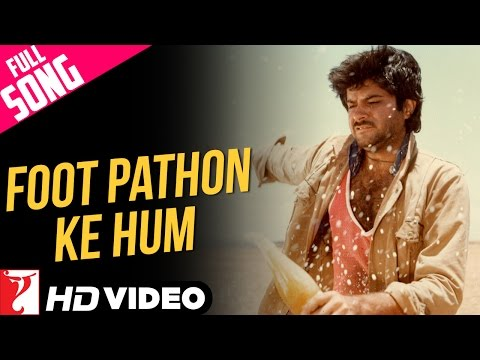 Foot Pathon Ke Hum - Full Song HD | Mashaal | Anil Kapoor | Rati Agnihotri