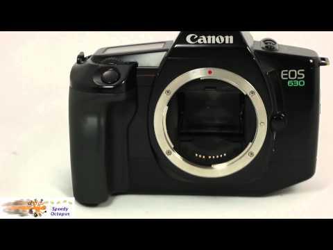 Canon EOS 630 35 mm film camera for sale Speedy Octopus Item 675