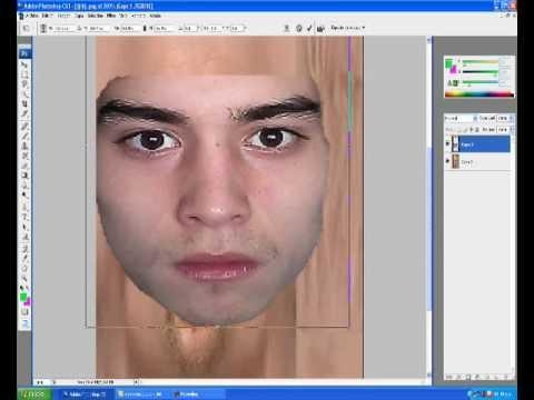 como crear caras para el pes 2012