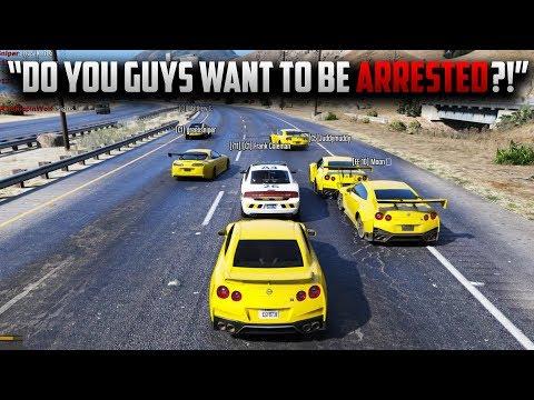 GTR CREW GANGS UP ON COP | GTA 5 ROLEPLAY