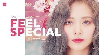 TWICE - Feel Special Line Distribution (Color Coded) | 트와이스 - 필스페셜