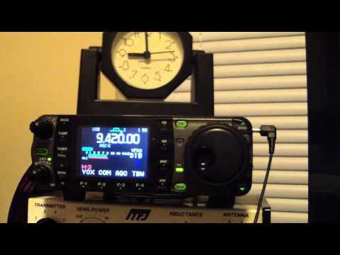 Voice of Greece on Shortwave Radio 9420 kHz 16-May-2012 (SWL in Omaha, NE)