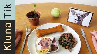 Eating DOG FOOD!!! Kluna Tik Dinner #40 | ASMR eating sounds no talk