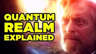 Ant-Man & Wasp QUANTUM REALM Explained! (Avengers 4 Theory!)