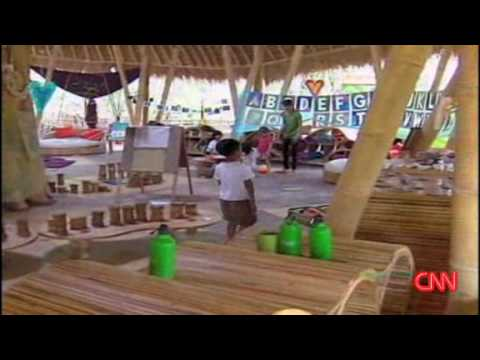 CNN Video - Bali s  Green School