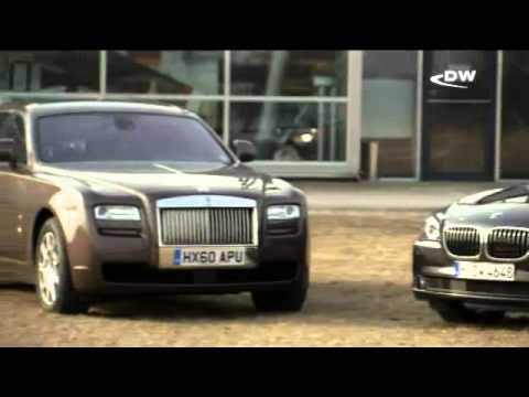 Тест: Rolls Royce Ghost против BMW 760li