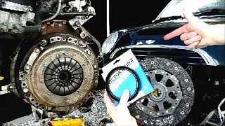 Clutch and Rear Main Seal Replacement - MINI Cooper S / Non S