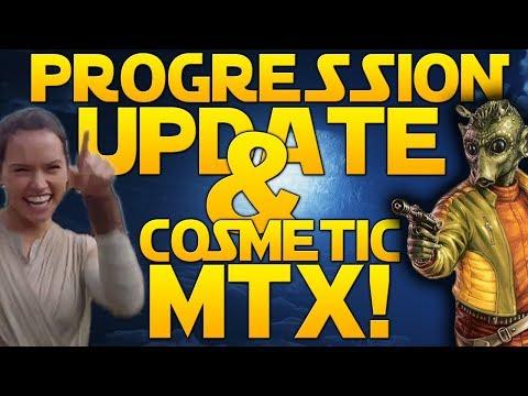 PROGRESSION REMAKE NEXT WEEK & COSMETIC-ONLY MTX! - Star Wars Battlefront 2