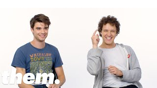 The Stars of Alex Strangelove Take the LGBTQuiz | them.