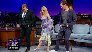 Kylie Minogue Teaches Benedict Cumberbatch Line Dancing