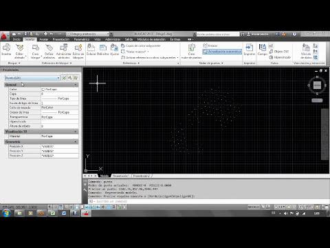 Como exportar nube de puntos 3D desde AutoCad a Excel y viceversa