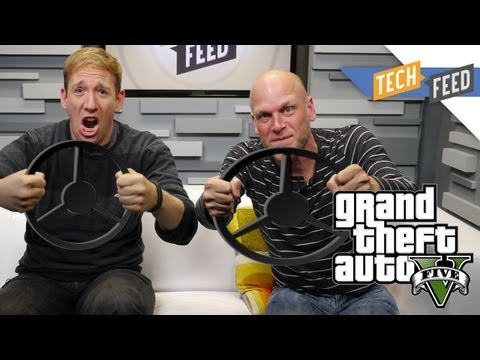 Adam Sessler Talks Grand Theft Auto 5 Gameplay!