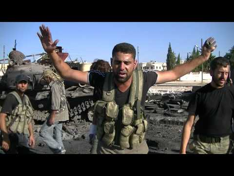 bilal tube - any tanks have been left behind as the Assad thugs either were killed or withdrew 19 7