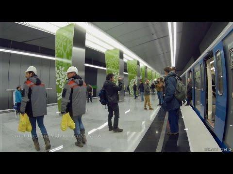 Открытие метро раменки