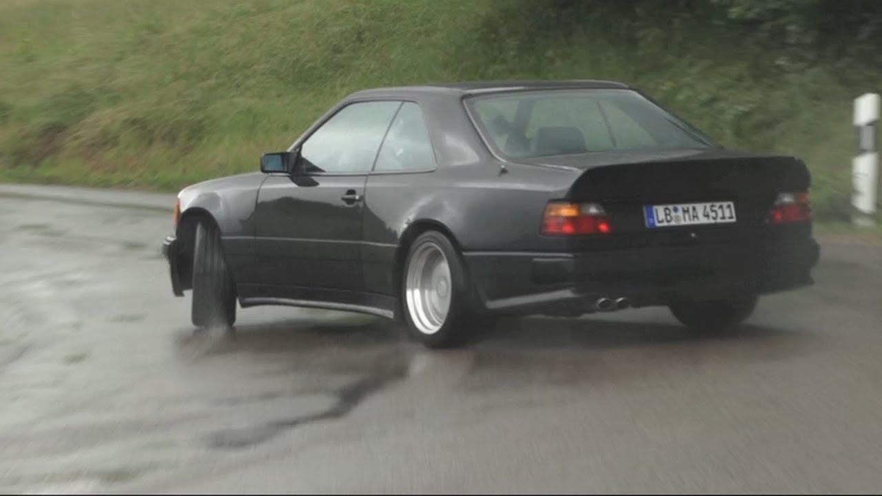 AMG Hammer Sideways In The Rain !! (And a Factory Tour) - /CHRIS ...