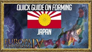 EU4 - Quick Guide on Forming Japan