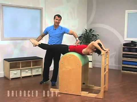 Pilates Balance Body Barril Escalera