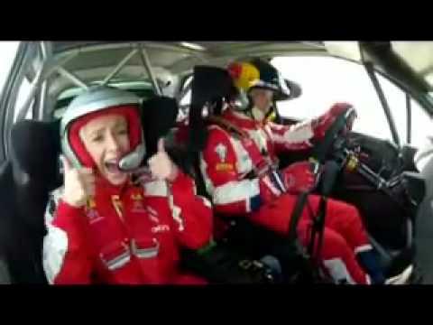 Citroën Co-Driving - Lara Ruiz copiloto de Sébastien Loeb - Viaje completo
