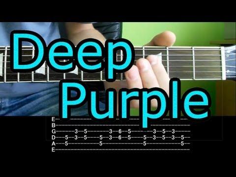 Jak Zagrać - Deep Purple - Smoke On The Water - Riff - Lekcja HD