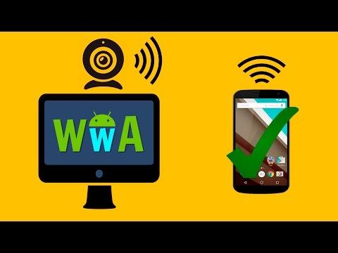 Usa Tu Movil Android como CAMARA REMOTA para el Ordenador