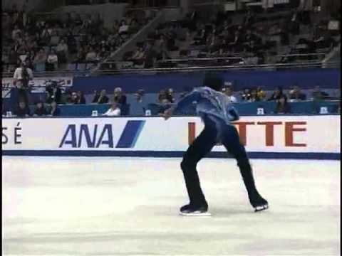 Johnny Weir  NHK  Trophy 2004 FS + Podium