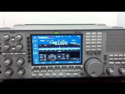 ICOM IC R-9500 XPA Polytone - XPA is a russian intelligence multitone system MFSK