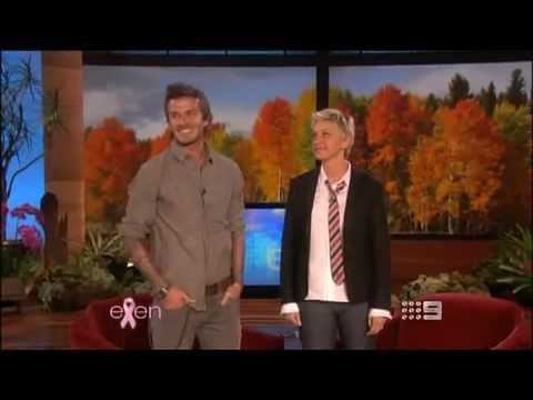 David Beckham on The Ellen DeGeneres Show 27/10/2010