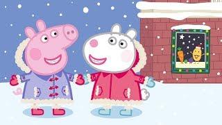 Peppa Pig Nederlands Compilatie Nieuwe Afleveringen 🎁 Kerst Met Vrienden 🎁 Tekenfilm