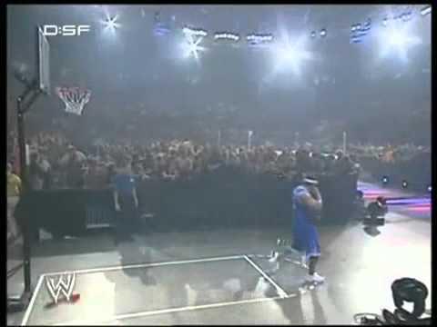 Wwe Matt Hardy Vs. Mvp Basketball Match video