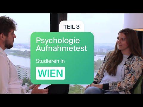 Psychologie studieren in Wien|Ein Erfahrungsbericht Teil 3|Psychologie Aufnahmetest