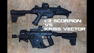 CZ Scorpion VS. Kriss Vector, Pistol Shootout, Pt. 1 General Specs and Overview