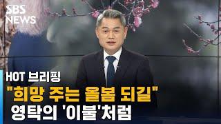 희망 주는 올봄 되길…영탁의 '이불'처럼 / SBS / HOT 브리핑