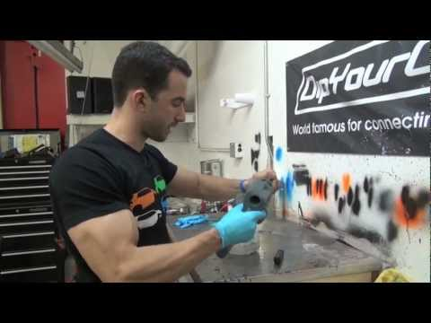 How To Clean Plasti Dip Spray gun - 3500 DipYourCar Pro Car Kits