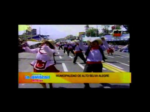 ALTO SELVA ALEGRE EN EL CORSO DE LA AMISTAD DE AREQUIPA 2014
