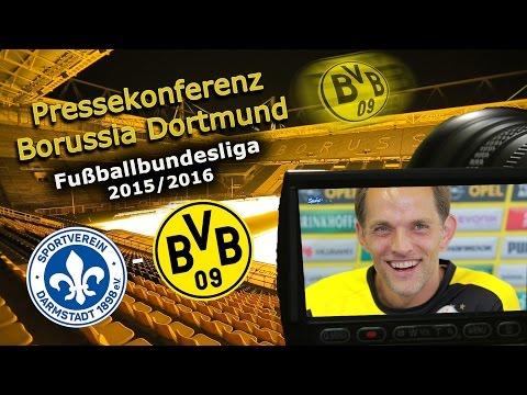 SV Darmstadt 98 - Borussia Dortmund: Pk mit Thomas Tuchel