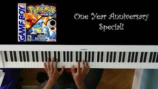 Pokemon Red/Blue Main Opening Theme (Piano Cover) - 1 Year Anniversary Special!