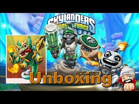 Skylanders Swap Force Doom Stone Unboxing   Jade Fire Kraken Special Figur Vorstellung [HD]