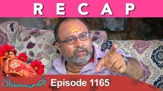 RECAP : Priyamanaval Episode 1165, 09/11/18