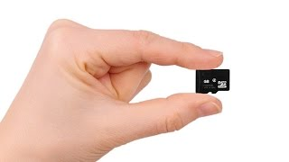 How to insert Micro SD card into Adapters