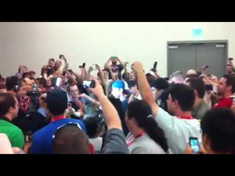 CM Punk invaded comic con
