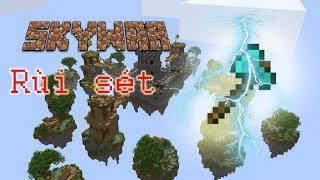 Minecraft Skywar: Rìu sét chặt phát chết !( Skywar lucky block)