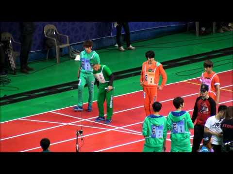 [FANCAM][HD]20130128 EXO 競歩 予選