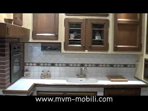 Cucine in Muratura, Cucine Rustiche e Moderne - YouTube