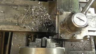 Making pull studs on the IZH 1I611p lathe
