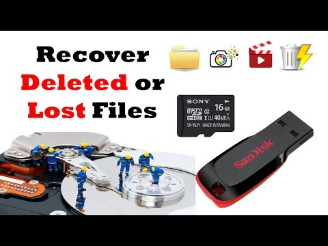 How to Recover Deleted or Lost Files By Wondershare Data Recovery Software